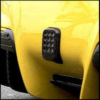 C3 Carbon Ferrari F12 Carbon Fiber Rear Fog Light Cover
