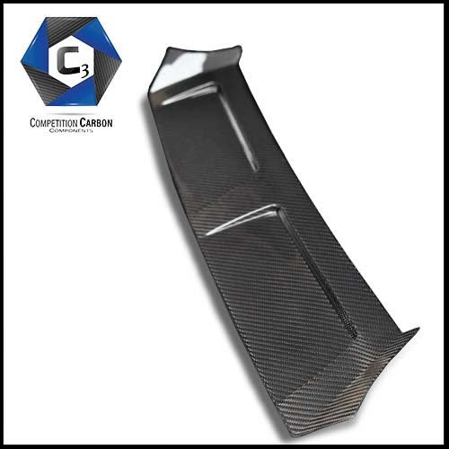 C3 Carbon Lamborghini Huracan LP610 Carbon Fiber Rear Deck Lid Trim