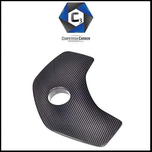 C3 Carbon McLaren MP4-12C/650S Carbon Fiber Coolant Tank Cover (Smooth)