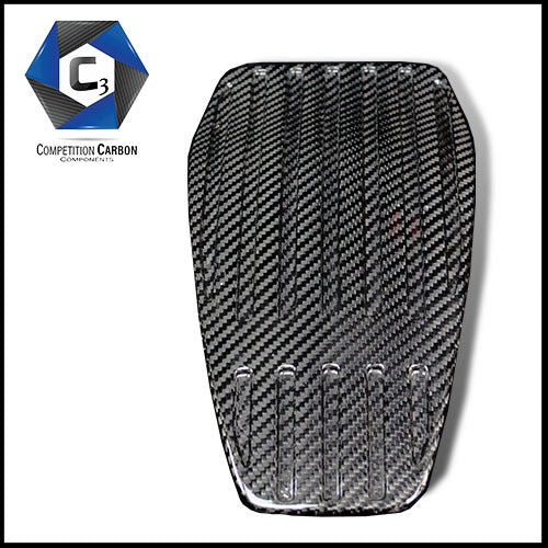 C3 Carbon McLaren MP4-12C/650S Carbon Fiber Throttle Body Cover (Grooved)
