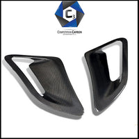 C3 Carbon Porsche 997 Turbo Carbon Fiber Side Intakes