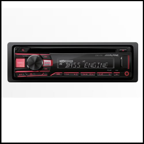 ALPINE CDE-170  Advanced MP3/WMA/CD Receiver