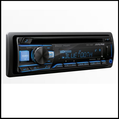 ALPINE CDE-172BT Advanced Bluetooth® CD Receiver