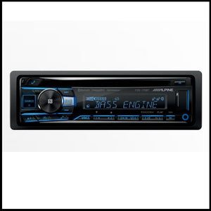 ALPINE CDE-175BT  CD/USB Receiver With Advanced Bluetooth