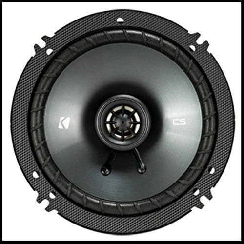"KICKER 6.5"" CS Series CSC65 2 WAY COAXIAL"