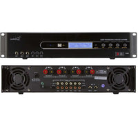 AUDIOFROG D300P Signal Processing Mixer/Amplifier Configuration: 2 Channel x 300 Watts Per Channel Class-AB