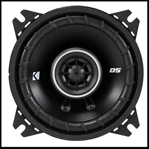 "KICKER 4"" DS Series 4"" 2 WAY COAXIAL"