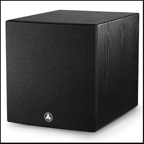 JL AUDIO Dominion™ d110-ASH: 10-inch (250 mm) Powered Subwoofer, Black Ash Finish