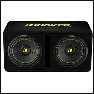 "KICKER Dual 12"" CompC Enclosure"