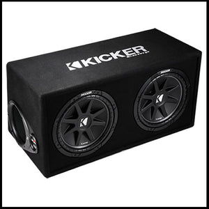 "KICKER Dual 12"" Comp Enclosure"