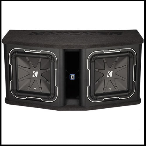 "KICKER Dual 12"" L7 2Ω Loaded Enclosure"