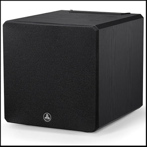 JL AUDIO E-Sub e110-ASH: 10-inch (250 mm) Powered Subwoofer, Black Ash Finish