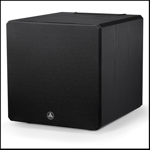 JL AUDIO E-Sub e112-ASH: 12-inch (300 mm) Powered Subwoofer, Black Ash Finish