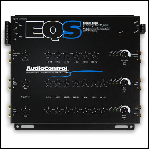 AUDIO CONTROL EQS