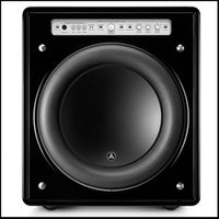 JL AUDIO Fathom® f113v2-GLOSS: 13.5-inch (345 mm) Powered Subwoofer, Black Gloss Finish