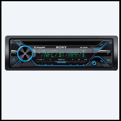 SONY BLUETOOTH® CD Receiver MEX-XB120BT