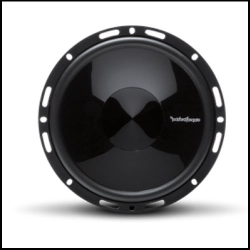 "ROCKFORD FOSGATE Punch 6.5"" 2-Way Euro Fit Compatible System Internal Xover"