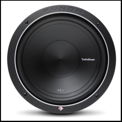 "ROCKFORD FOSGATE Punch 12"" P1 4-Ohm SVC Subwoofer"