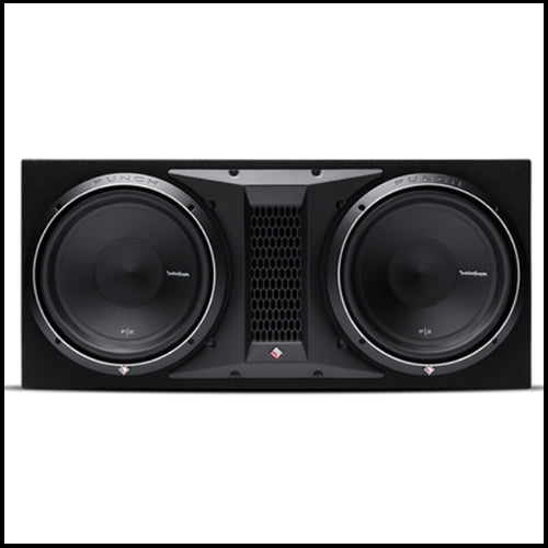 "ROCKFORD FOSGATE Punch Dual P2 12"" Loaded Enclosure"