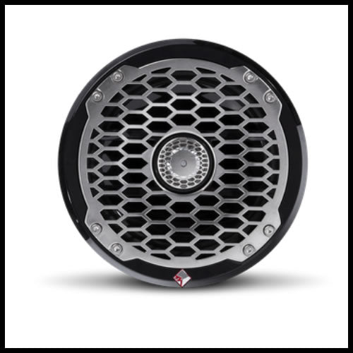 "Punch Marine 6.5"" Full Range Speakers - Black Audio Design"