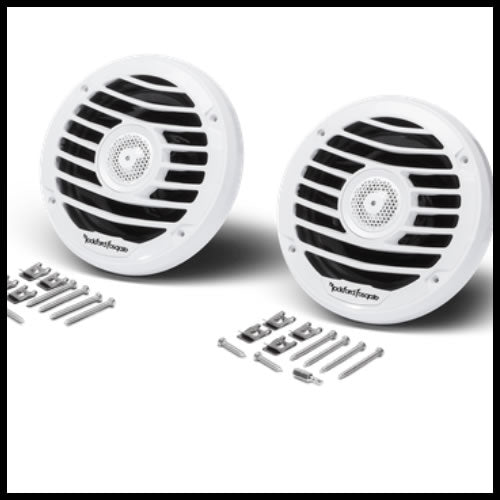 "Punch Marine 6.5"" Full Range Speakers - Luxury Audio Design"
