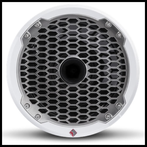"Punch Marine 8"" Full Range Speaker w/ Horn Tweeter Audio Design"