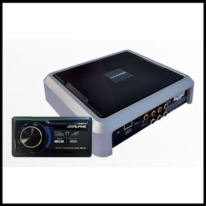 ALPINE PXE-0850S  Advanced Wireless Digital Signal Processor
