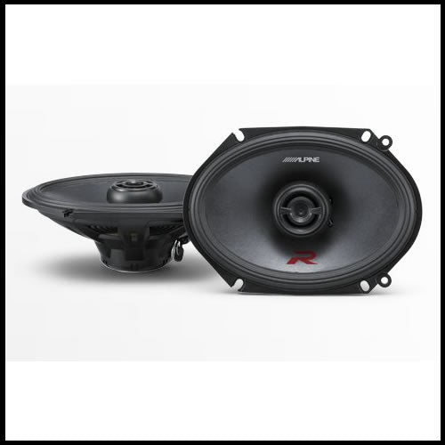"R-S68  6""x8"" Coaxial 2-Way Speakers"