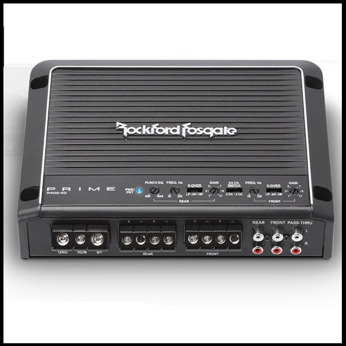 ROCKFORD FOSGATE Prime 400 Watt Class-D 4-Channel Amplifier