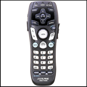 ALPINE RUE-4190 Universal Audio/Navigation/DVD/TV Tuner Remote Control