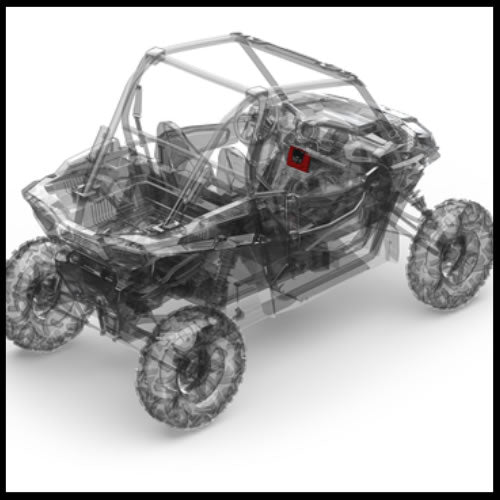Stereo kit for select Polaris® RZR® models  RZR-STAGE1