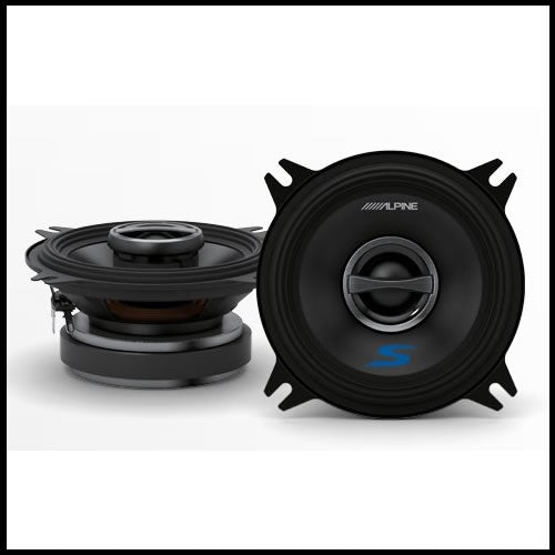 "S-S40  4"" Coaxial 2-Way Speaker Set Audio Design"