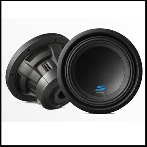 "S-W10D2  10"" Dual Voice Coil (2 Ohm) High Performance Subwoofers Audio Design"