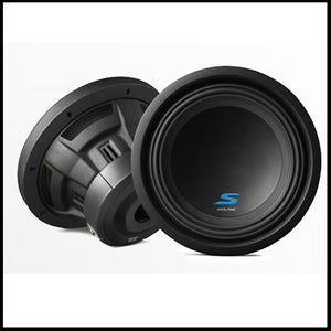 "S-W10D4  10"" Dual Voice Coil (4 Ohm) High Performance Subwoofers Audio Design"