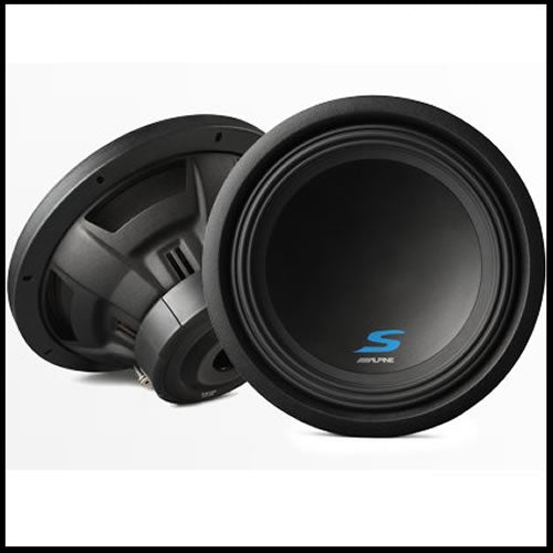 "S-W12D2  12"" Dual Voice Coil (2 Ohm) High Performance Subwoofers Audio Design"