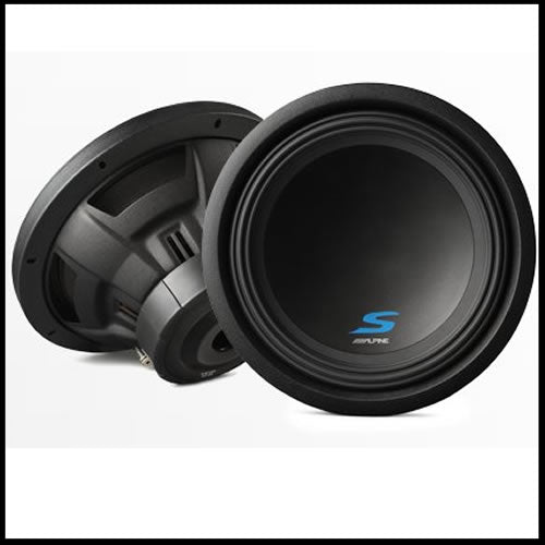 "S-W12D4  12"" Dual Voice Coil (4 Ohm) High Performance Subwoofers Audio Design"