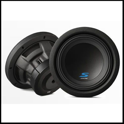 "S-W8D4  8"" Dual Voice Coil (4 Ohm) High Performance Subwoofers Audio Design"