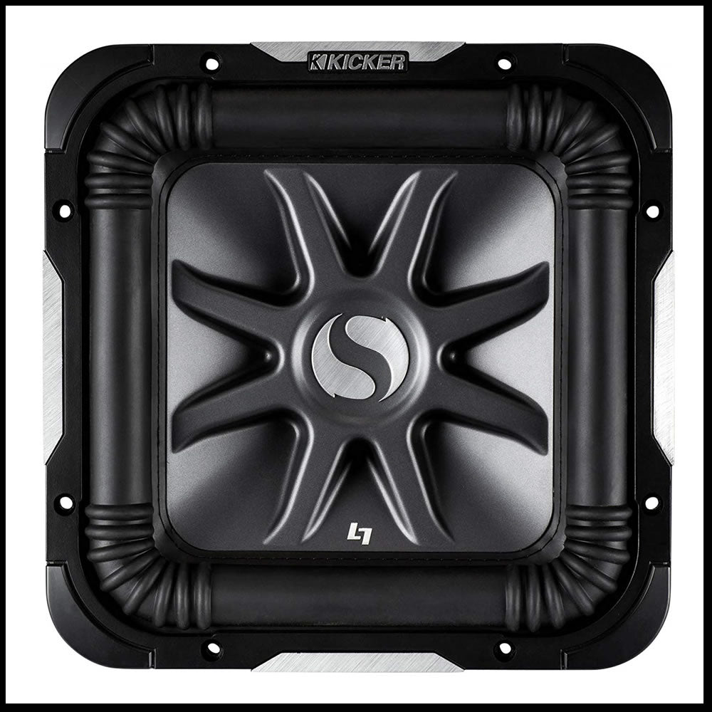 "KICKER S10L74 10"" 1200W 4-Ohm Car Audio Subwoofer L7"