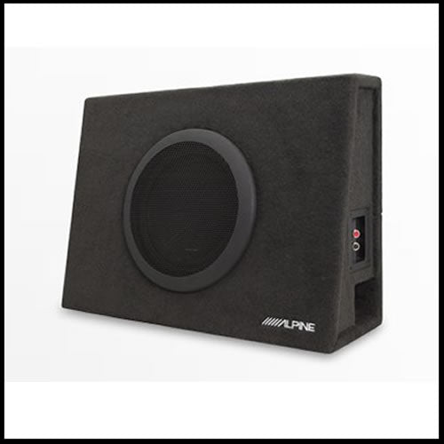 "SBT-S10V  Truck Enclosure with 10"" SWT Subwoofer Audio Design"
