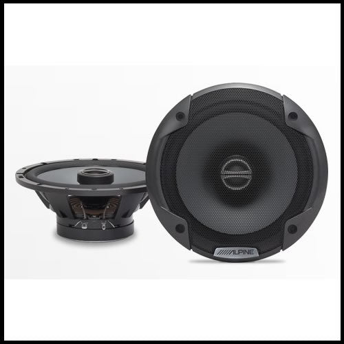 "SPE-6000  6-1/2"" Coaxial 2-Way Speaker Set Audio Design"
