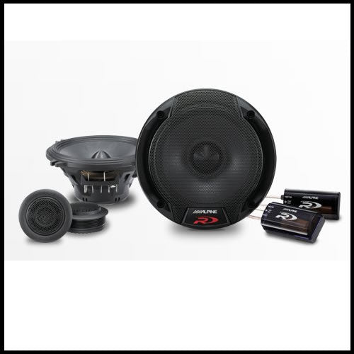"SPR-50C  5-1/4"" Component 2-Way Speaker System Audio Design"