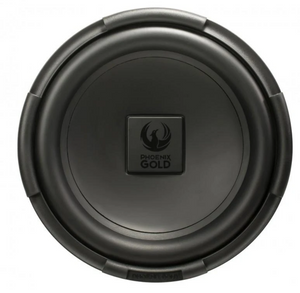 "PHOENIX GOLD RX2 12"" 200W Single 4-Ohm Subwoofer"