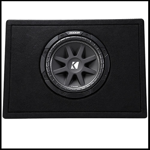"KICKER Single 10"" Comp 4 Ohm Enclosure"
