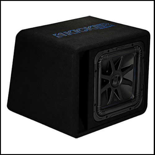 "KICKER Single 12"" Solo-Baric L7S Enclosure"