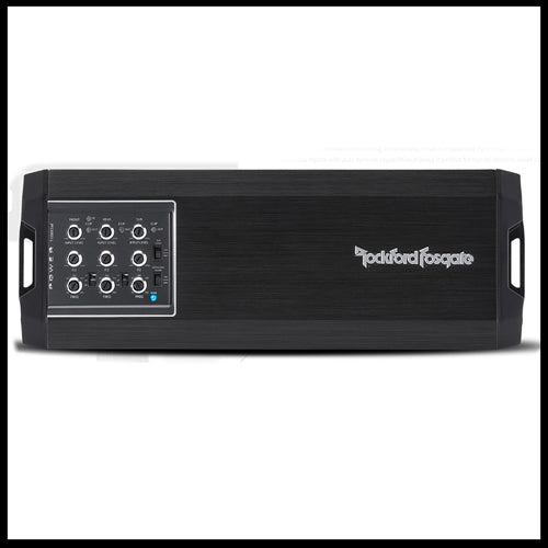 ROCKFORD FOSGATE Power 1,000 Watt Class-ad 5-Channel Amplifier