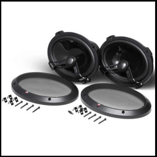 "ROCKFORD FOSGATE Power 6""X 9"" 2-Way Full-Range Speaker"