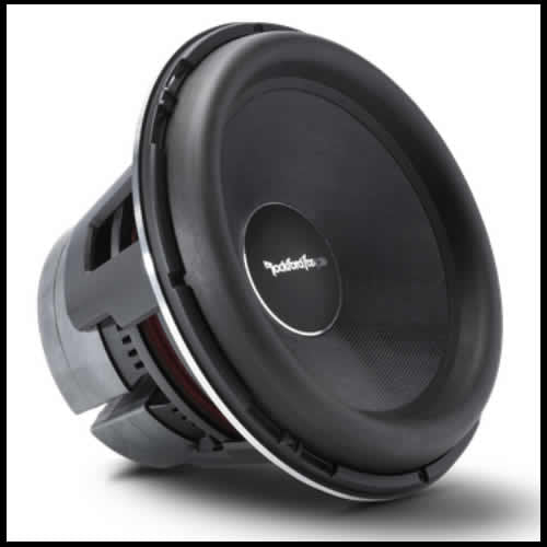 "ROCKFORD FOSGATEPower 16"" T2 Single 1-Ohm Subwoofer"