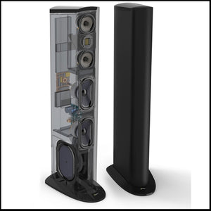 GOLDEN EAR Triton Two+ Floorstanding Tower Loudspeaker with Built-In 1200 Watt Powered Subwoofer (ea)