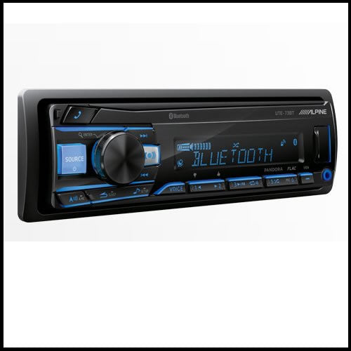 ALPINE UTE-73BT Digital Receiver