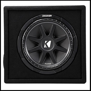 "KICKER Vented 12"" Comp Enclosure"
